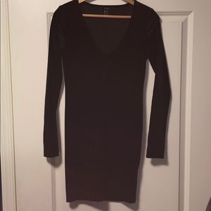 Forever 21 Long sleeve Body Con Dress